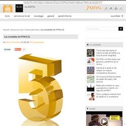 Las novedades de HTML5 (I)