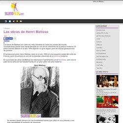 Las obras de Henri Matisse