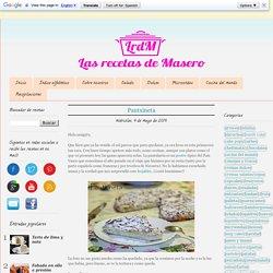 Las recetas de Masero: Pantxineta