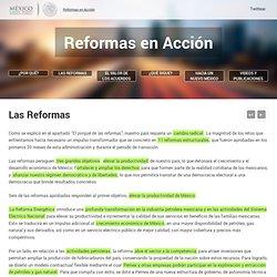 Reformas en Acción