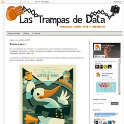 Las trampas de Data: Posters retro