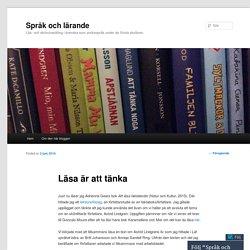 Språk och lärande