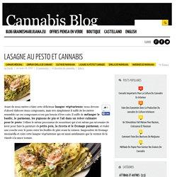 Lasagne au pesto et cannabis