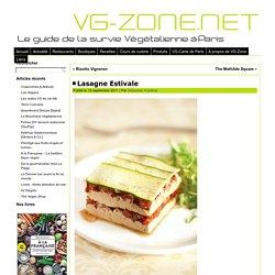 Lasagne Estivale