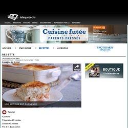 Lasagne de la mer