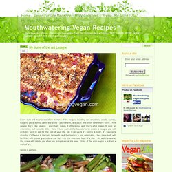 » My State of the Art Lasagne