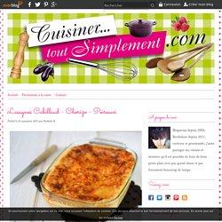 Lasagnes cabillaud-chorizo-poireaux