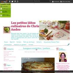 Lasagnes courgettes / jambon