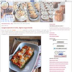 Lasagnes épinards & ricotta, légères et gourmandes
