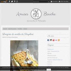Lasagnes de ravioles du Dauphiné