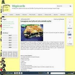 Lasagnes au tofu et à la salade cuite