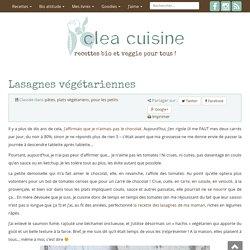» Lasagnes végétariennes
