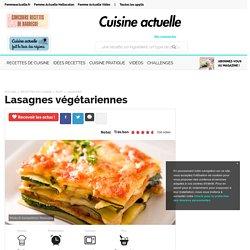Lasagnes végétariennes, facile et pas cher