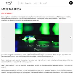 Laser Tag Arena — Space Club Brasov