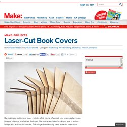 Laser-Cut Book Covers