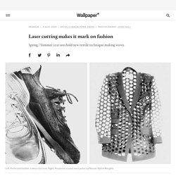Laser cutting makes it markon fashion