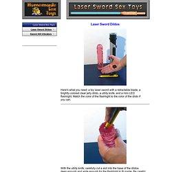 Laser Sword Sex Toys - Dildos