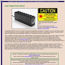 Laser Target Finder Sensor