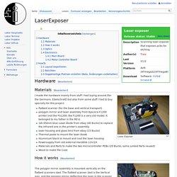LaserExposer – LaborWiki