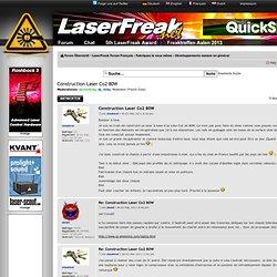 Thema anzeigen - Construction Laser Co2 80W