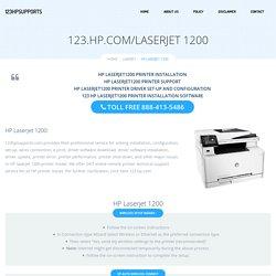 123.hp.com/laserjet1200 - HP Laserjet 1200 Install & Setup