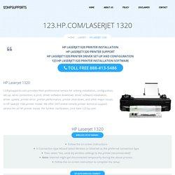 123.hp.com/laserjet1320 - HP Laserjet 1320 Install & Setup