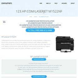 123.hp.com/laserjetm1522nf - HP Laserjet m1522nf Install & Setup