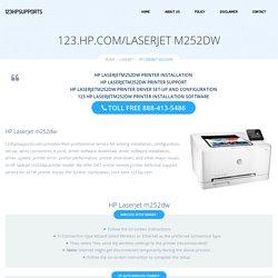 123.hp.com/laserjetm252dw - HP Laserjet m252dw Install & Setup