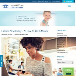 Lasik in New Jersey - As Low as $77 a Month - Manhattan Lasik Center