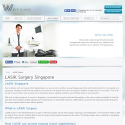 W Eye Clinic - LASIK Eye Clinic Singapore