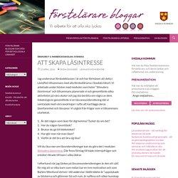 Förstelärare i Svedala