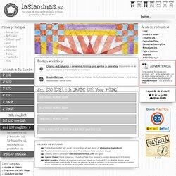 2nd ESO english - laslaminas.es - Web de apuntes y ejercicios de Dibujo Técnico y educación plástica y visual.