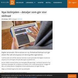 Nya läslinjalen - detaljer som gör stor skillnad - Digitala läromedel från digilär.se