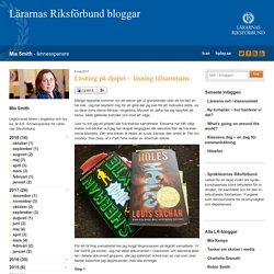 Läsning på djupet - läsning tillsammans - Mia Smith