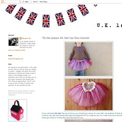 Not too Tutu tutorial