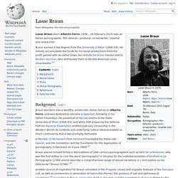 Lasse Braun - Wikipedia