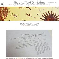 Story, History, Story