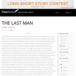 The Last Man: A science fiction by Mary Shelley
