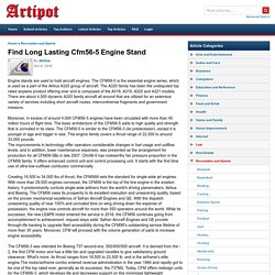 Find Long Lasting Cfm56-5 Engine Stand