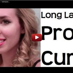 Long lasting Wedding / Prom curls - hairstyles for long hair & hairstyles for medium hair