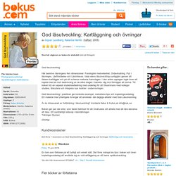 God läsutveckling: Kartläggning och övningar - Ingvar Lundberg, Katarina Herrlin - Bok (9789127723092)