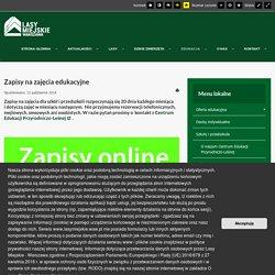Lasy Miejskie Warszawa - Zapisy na zajęcia