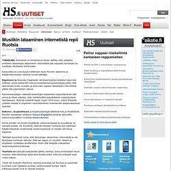 Musiikin lataaminen internetistä repii Ruotsia - HS.fi - Ulkomaat