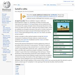 Lataif-e-sitta