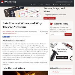 Late Harvest Wines and Why They're Awesome