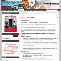 Jobs und Praktika » Lateinamerika Nachrichten