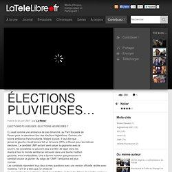 Elections pluvieuses, élections heureuses ?