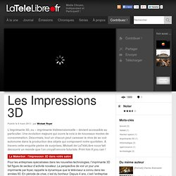 frLes Impressions 3D