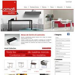 Mesas de centro, laterales y muebles italianos con estilo para decorar su hogar y oficina.