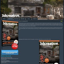 // Latest issue of 3DCreative Magazine